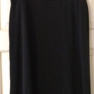 Ladies black skirt size large